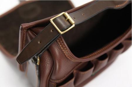 Glen Leather Cartridge Bag by Brady 100 cartridge at Cox the Saddler