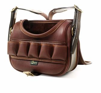 Glen Leather Cartridge Bag by Brady
