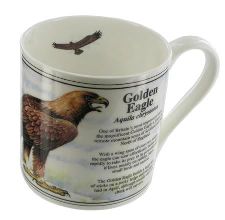 Golden Eagle Bone China Mug