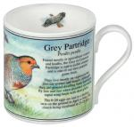 Grey Partridge Bone China Mug CMNA