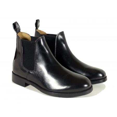 Harry Hall Buxton Jodhpur Boot for Men in black