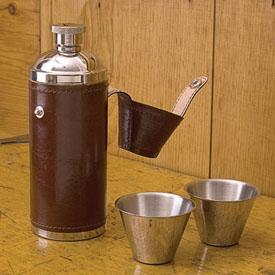 Hunting Shooting and Fishing Flask