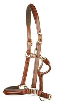 jeffries elite leather headcollar elhc