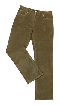 ladies stretch cord jean by barbour