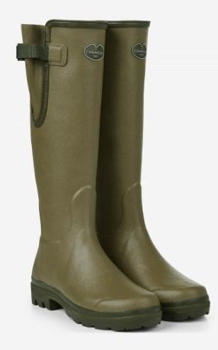 Le Chameau Womens Vierzon Jersey Lined Boot 1174