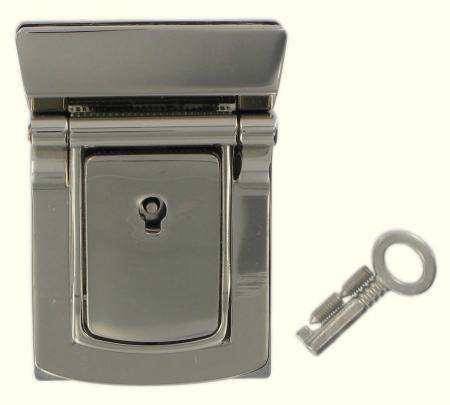 Lockable Tucktite Fastener Chrome