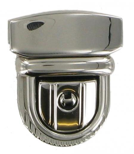 Lockable Tucktite Fastener in Polished Chrome CTT22