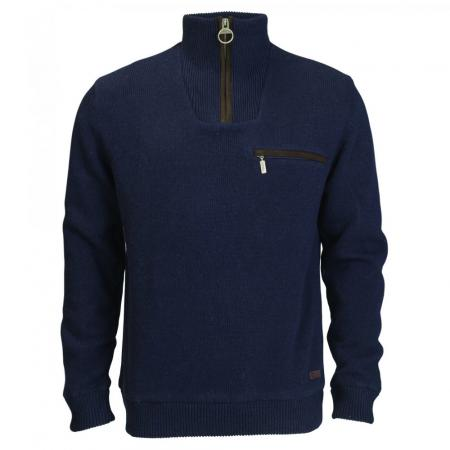 Men's Barbour Ayton Half Zip Sweater