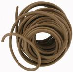1 Metre of Round Leather Belting 6mm Diameter CRLB2
