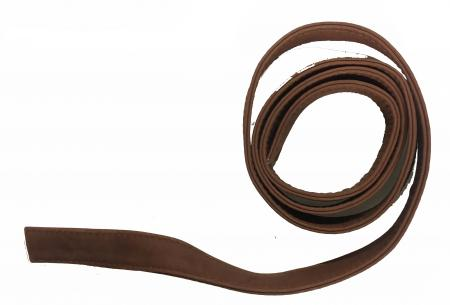 Mid-Brown unfinished Leather Shoulder Strap