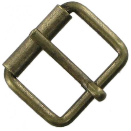 26mm Single Roller Buckles in brass, antique brass and chrome CXSB3