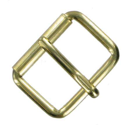 30mm Single Roller Buckles in brass, antique brass and chrome CXSB4