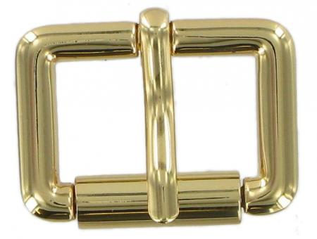 26mm Single Roller Buckles in gold finish CXSB5BR
