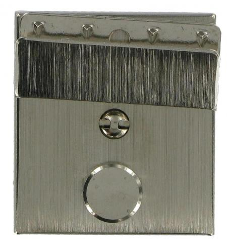 Nickel Soft Briefcase Key Lock 26-N2512
