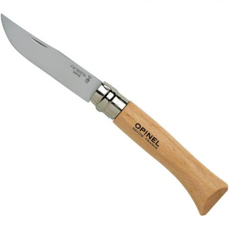 Number 10 Locking Opinel Stainless Steel Bladed Knife