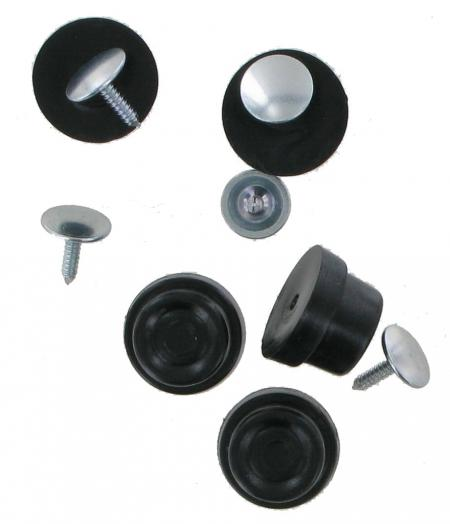 Nylon Base Stud 12mm deep Pack of 5 CNBS1