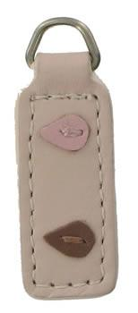 Pale Pink Applique replacement zip tag for Radley handbags Z39/A