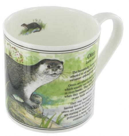 Otter Bone China Mug
