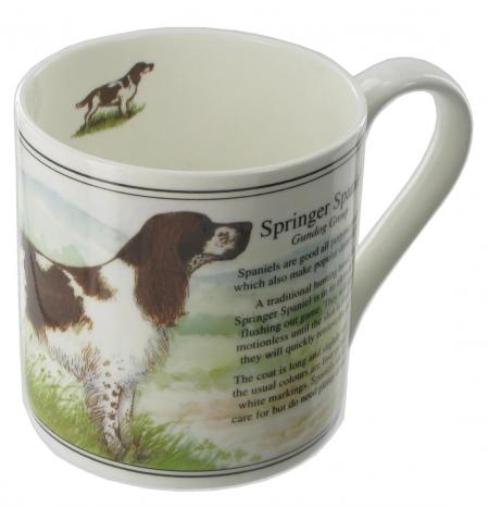Springer Spaniel Bone China Mug