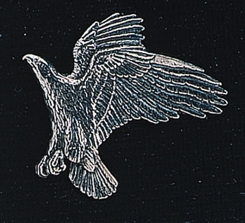 pewter eagle badge
