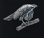 pewter goshawk badge