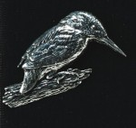 pewter kingfisher badge