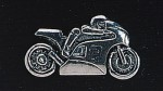pewter motorbike badge