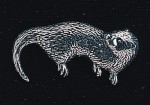 pewter otter badge