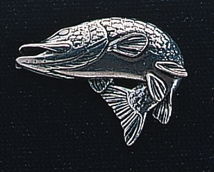 pewter pike badge