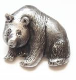 Pewter Panda Badge
