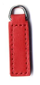 Plain 3cm replacement zip tag for Radley handbags Z19F red