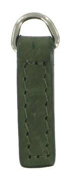 Plain Slim 3cm replacement zip tag for Radley handbags Z29/D (dark green)