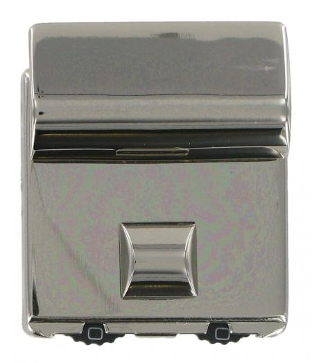 Polished Chrome 2 Dial Combination Lock for Briefcases CXCBK5