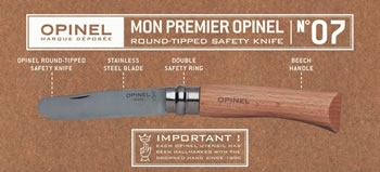 Round Tipped Opinel Safety Knife