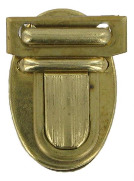 Small Brass Finish Tucktite Fastener for Bags CTT17
