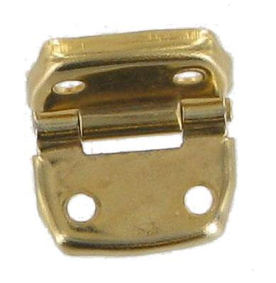 Small Brass Plated Case Hinge CXHG1