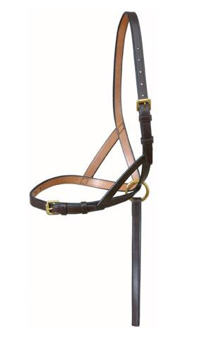 Brown Standard Leather Foal Slip