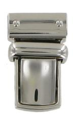 Straight Sided Small Tucktite fastener in nickel finish CTT26