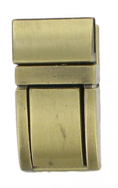 Straight Sided Tiny Tucktite fastener Antique Brass CTT19