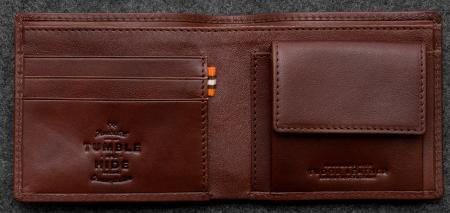 Tudor Coin Pocket Wallet in Leather TH2026TDR