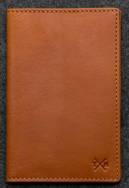 Tudor Golf Score Card Holder in Leather TH2313TDR