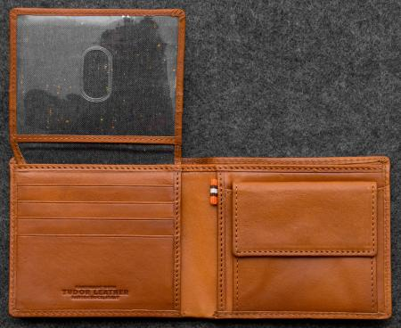 Tudor Hallmark Wallet in tan Leather