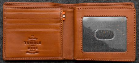Tudor Legion Wallet in Leather in tan