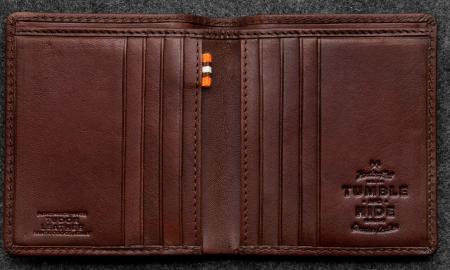 Tudor North South Basal Wallet in Leather TH2068TDR