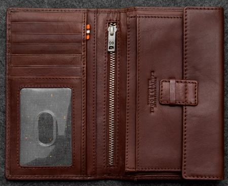 Tudor Traditional Wallet in Leather TH2384TDR