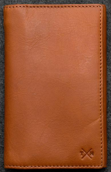 Tudor Traditional Wallet in tan Leather