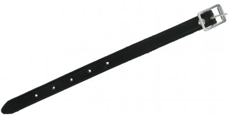 Twelve Inch Black Leather Strap BLKSTRP12