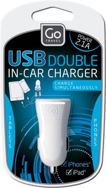 USB Double in car charger