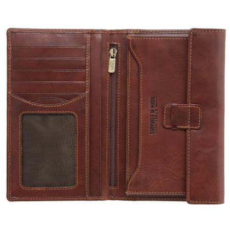 Vegetale Gents' Long Leather Jacket Wallet