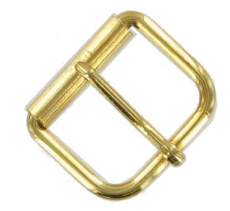 Vintage Gold Coloured Roller Buckle for belts 33mm wide CXSB8